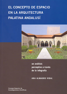 Libro 'El concepto del espacio en la arquitectura palatina andalusí'