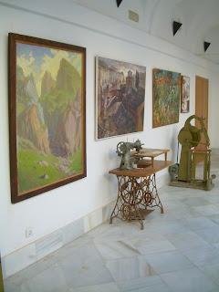 Exposición retrospectiva de J.A. Martel en el Convento de Capuchinos