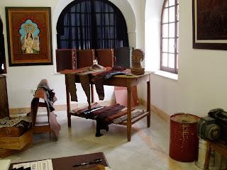 Una sala del Museo de la Piel [Foto: Paco Solano]