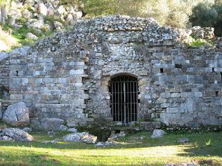 Yacimiento romano de Ocuri, en Ubrique [Foto: Ayuntamiento de Ubrique]