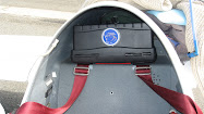 Place case in the glider