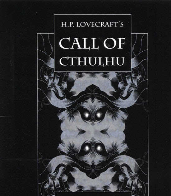 Booklad HP Lovecrafts Call Of Cthulhu As Graphic Novel