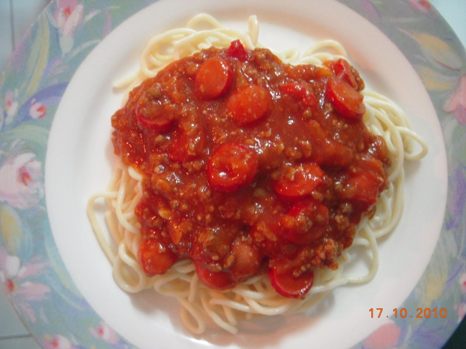 Spaghetti Bolognaise ala Pulomas