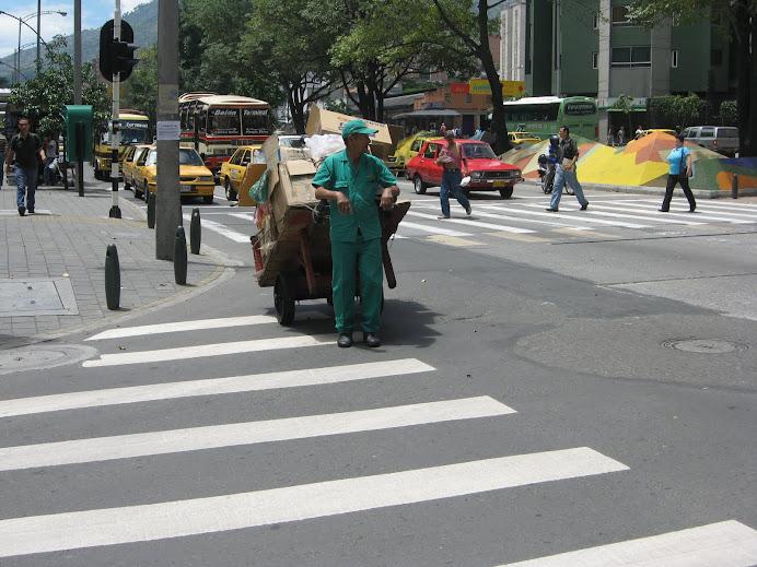 Por las calles de Medellín