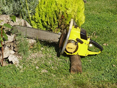 Partner R14  chainsaw