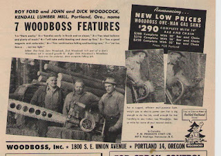 Woodboss chainsaw
