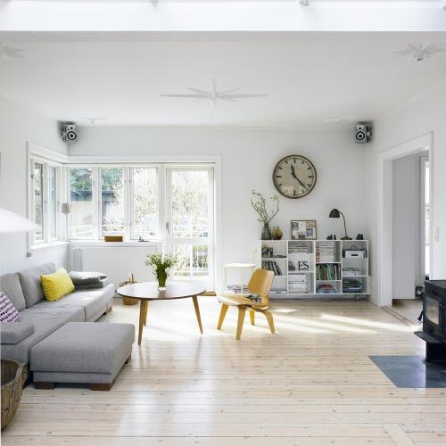 Lille Lykke: Lichte woonkamer