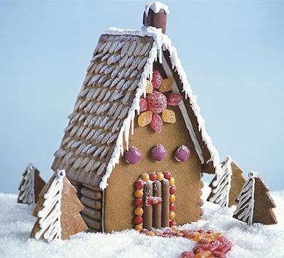 Lille lykke peperkoek huisjes maken Make your own gingerbread house online