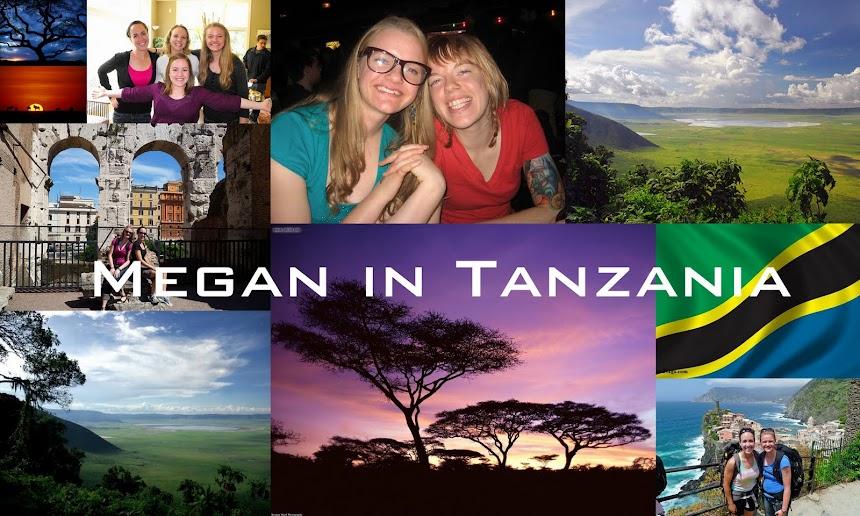 Megan in Tanzania
