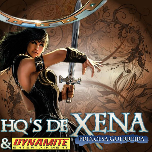 HQ'S de Xena & Dynamite Entertainment