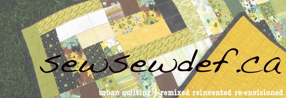 sew sew def | hip quilters unite, yo