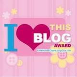 I Love this Blog Award