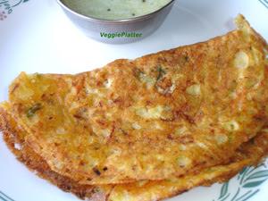 Cornmeal - Veggie Dosa