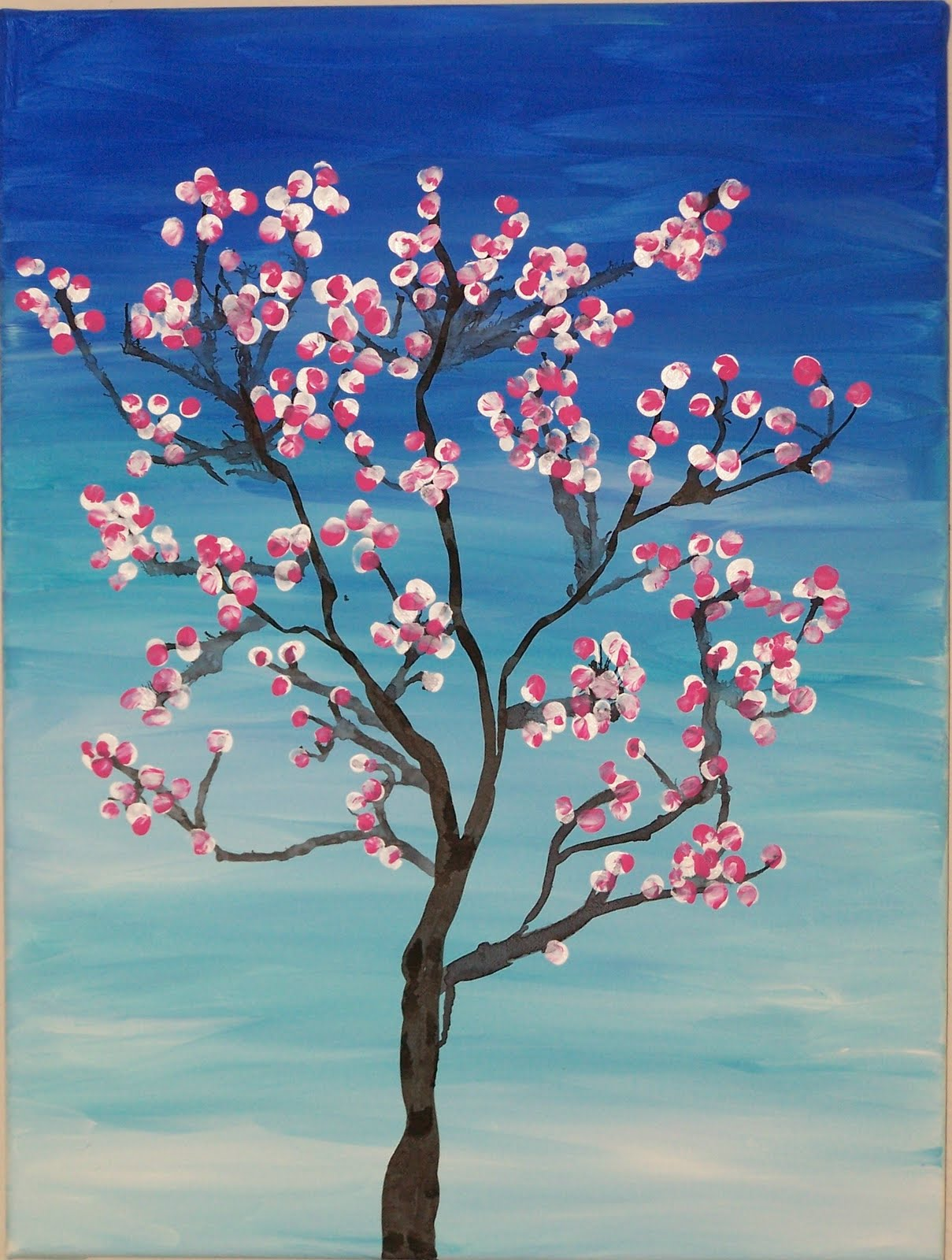 1000 ideas about cherry blossom art on pinterest art for Cherry blossom mural works