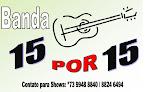 BANDA 15 POR 15                            O MELHOR DO FORRÓ