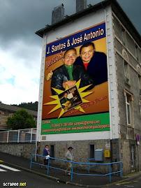 CARTAZ DE LANÇAMENTO DO CD DOS CANTORES JOTTA SANTOS E JOSÉ ANTONIO