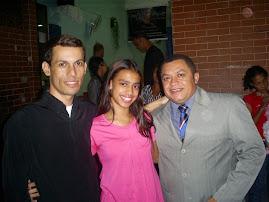 CANTOR MARCOS OLIVEIRA RECEBE O CANTOR JOSÉ ANTONIO EM FESTIVIDADE.