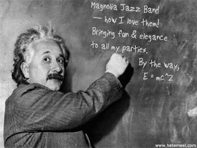 A great testimonial for the Magnolia Jazz Band