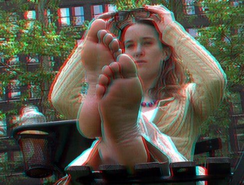 Bare Soles on 3D