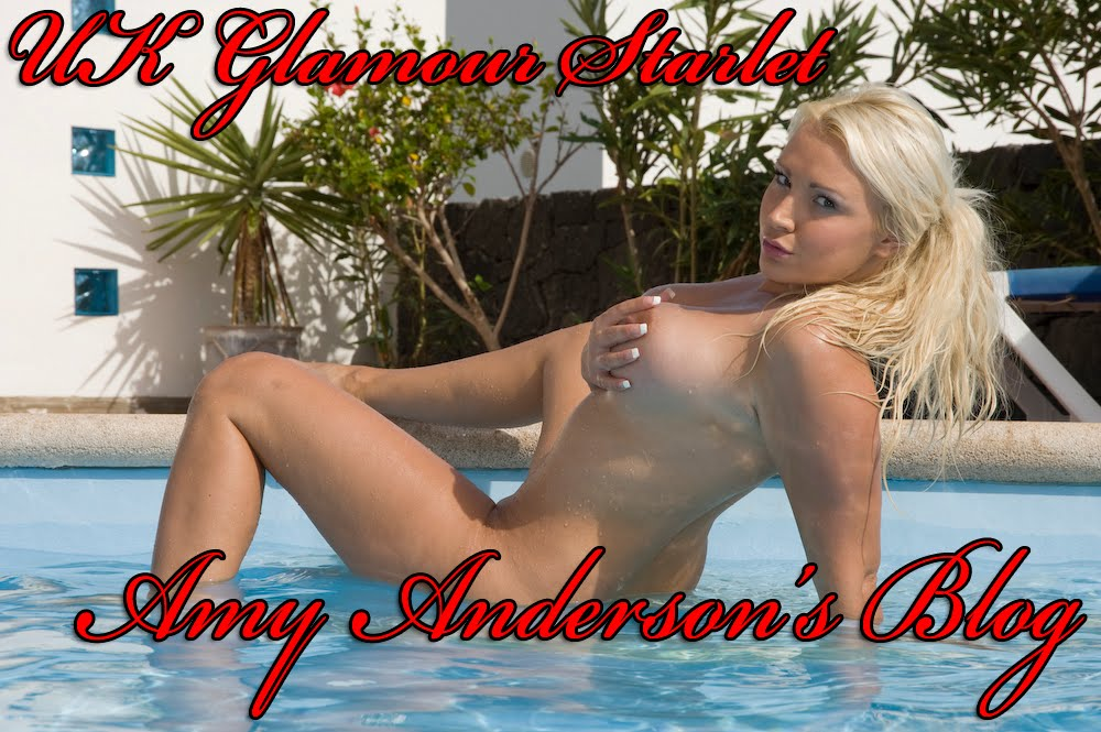 Amy Anderson UK Glamour Model
