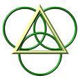 simbolo de union de tres mundos