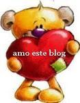 """Mimo """"amo este blog"""""""
