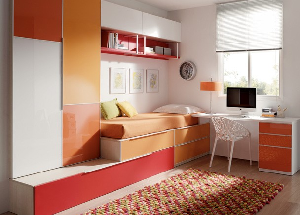 Fotografias de dormitorios juveniles habitaciones juveniles for Dormitorios juveniles modernos de diseno