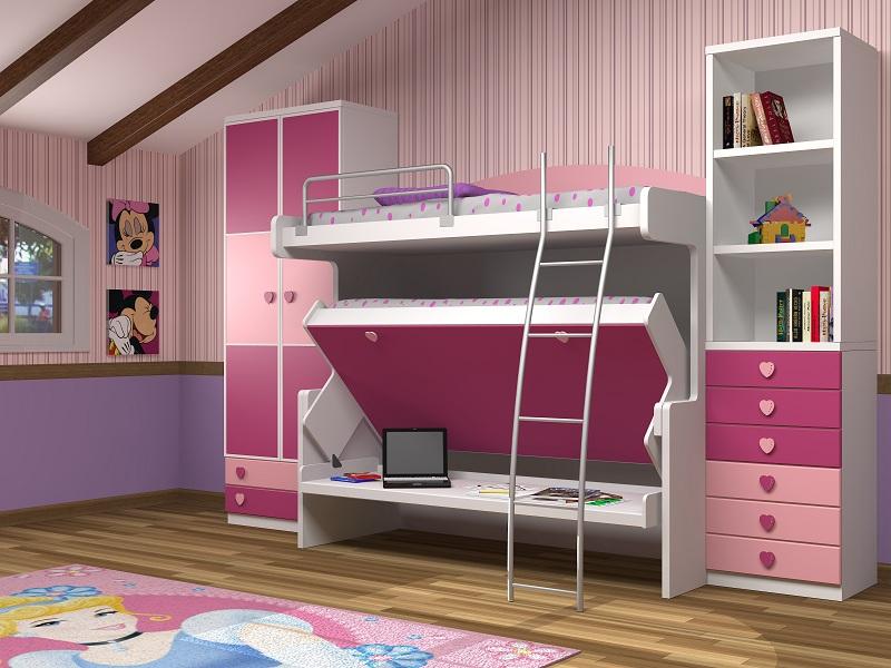 Tienda muebles modernos muebles de salon modernos salones - Habitaciones con literas abatibles ...