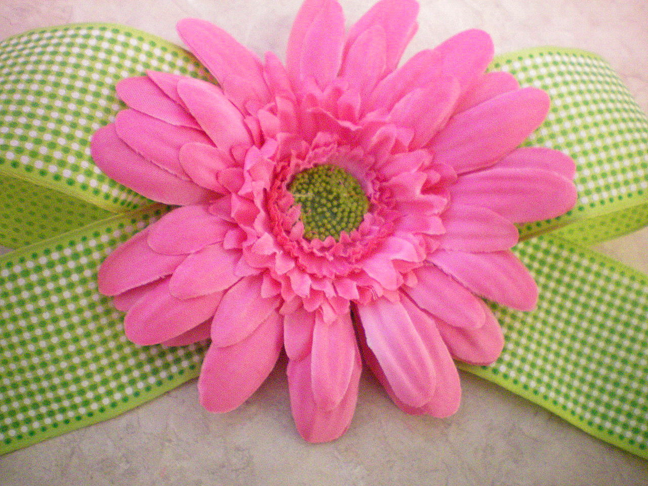 how to make a flower bow