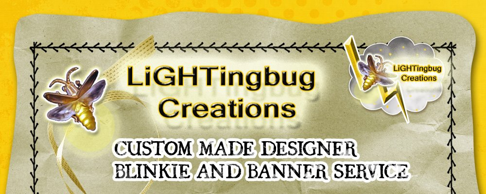 Lightning bug Creations