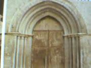 """porta de Sant Domenec Catedral de la Seu D""""urgell"""
