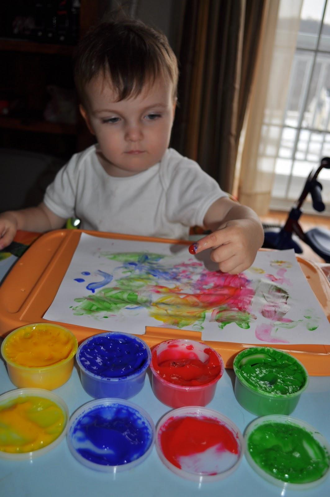 Rubber Finger Paint Brushes For Children