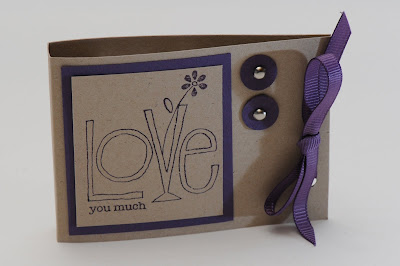 Love you much, workshop, stamp, stampin up