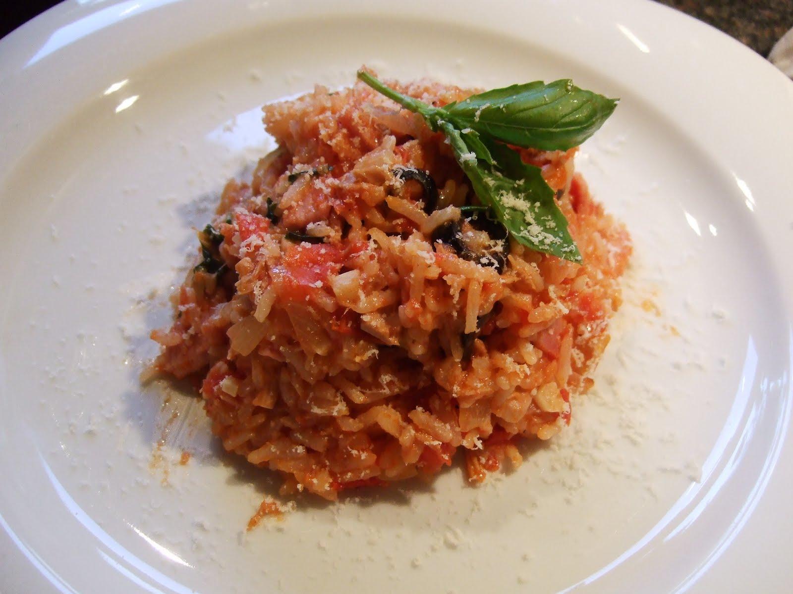 Tuna and tomato rice uncle robbies kitchen tuna and tomato rice ccuart Choice Image