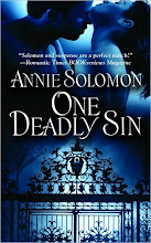 Win one of 5 copies of One Deadly Sin by Annie Solomon