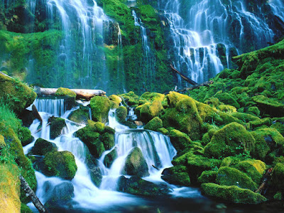 Beautiful Water Falls Wallpaper