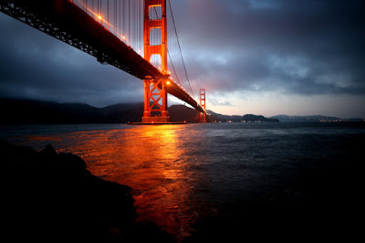 The Golden Gate Bridge San Francisco Night Photo