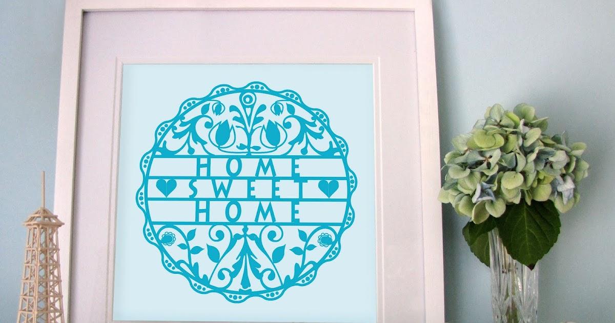 my sweet prints new print 39 home sweet home 39. Black Bedroom Furniture Sets. Home Design Ideas