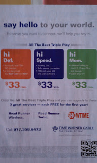 Time Warner Cable QR Code