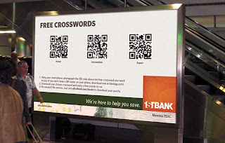 1stBank QR Code Crosswords