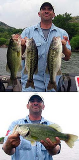 Oklahoma bass fishing report from Lake Tom Steed