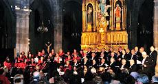 La Coral de Torrelavega en concierto