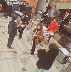 El último directo de los Beatles.