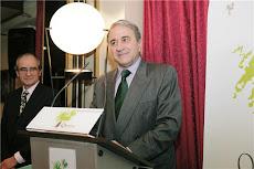 "German Castellano nombrado, por el G.O.Quecus,  ""Torrelaveguense Ilustre 2008"""
