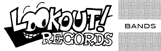 LOOKOUT RECORDS BANDS
