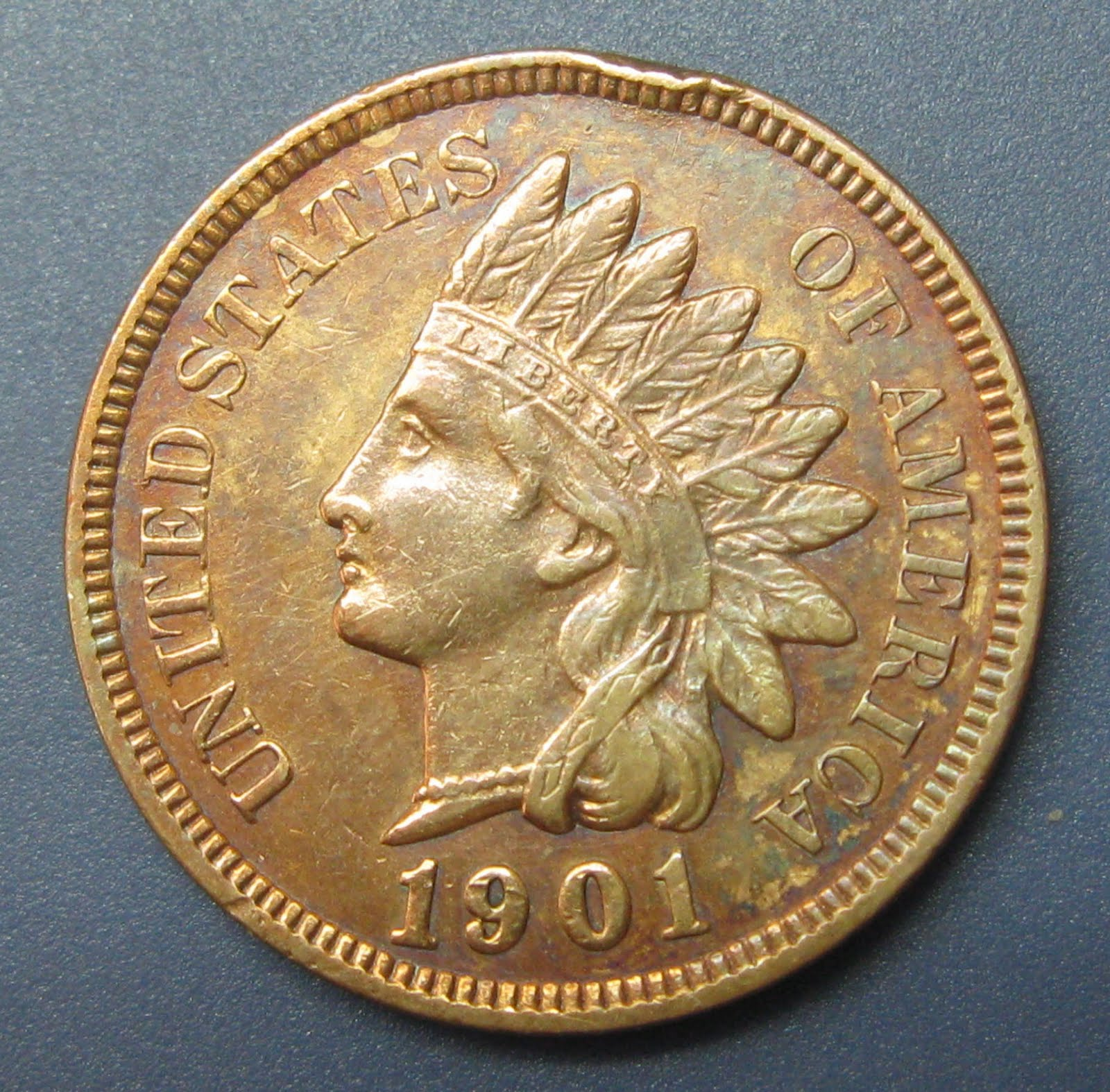 how to clean a 1901 indian head penny