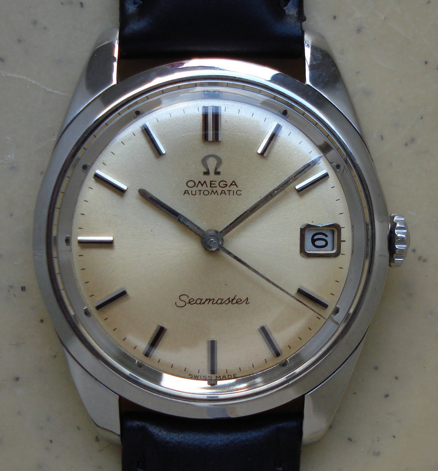 omega seamaster vintage watches automatic