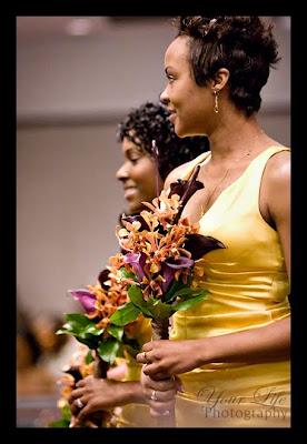 wedding bouquet, calla, orchis, Isha Foss Events