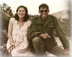 Foto muda SBY dan istri