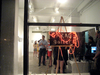 Garage Gallery Downtown LA Ming Ong show